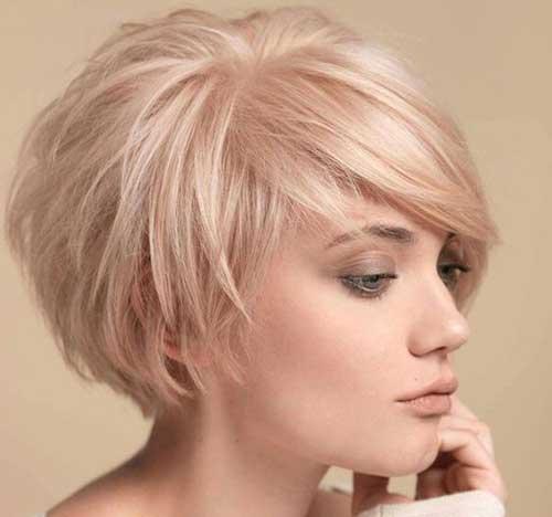 Formas bonito de estilo de cabelo curto-10