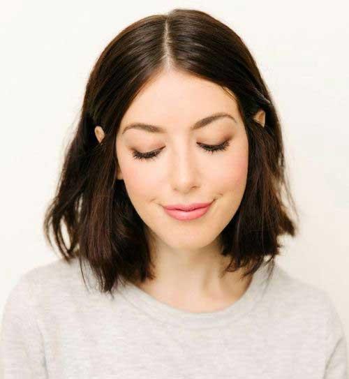 Penteados para curto em camadas Cabelo-10