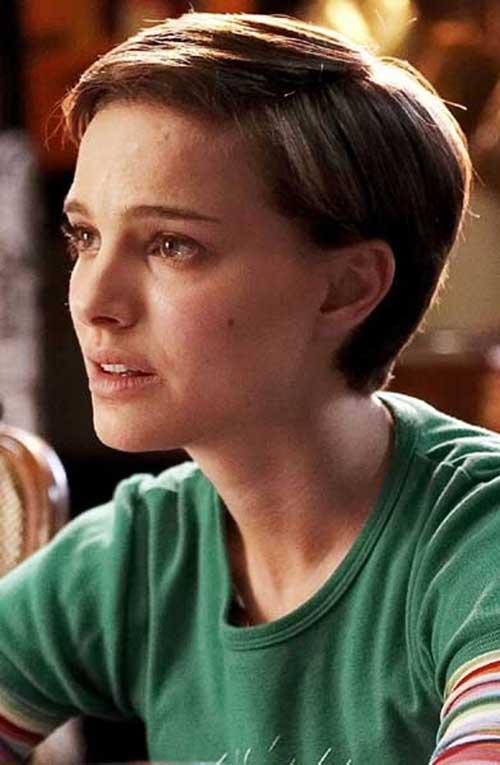 15 agradável Natalie Portman Pixie Cut
