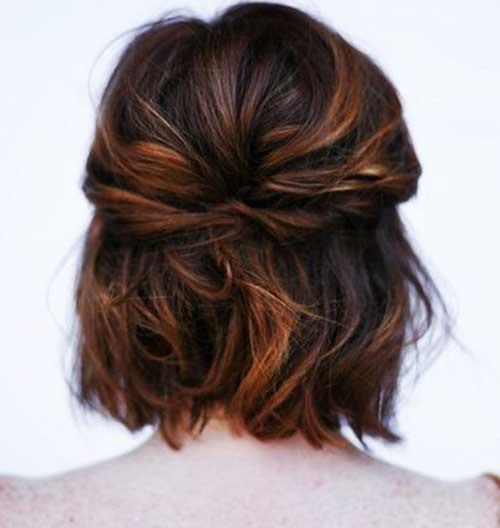 Formas bonito de estilo de cabelo curto-11