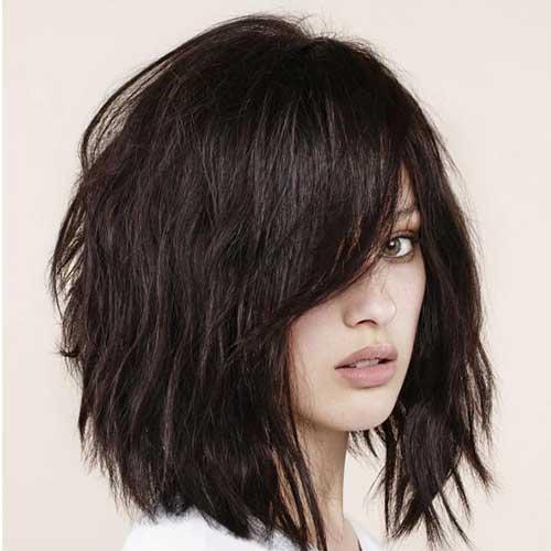 Penteados para curto em camadas Cabelo-11
