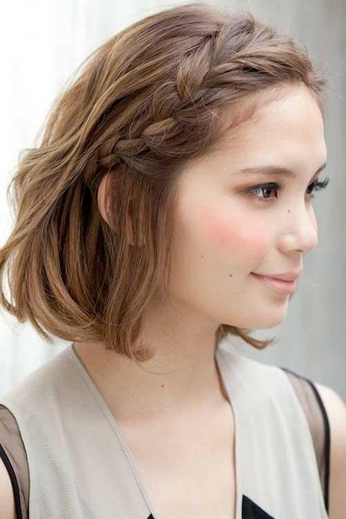 Formas bonito de estilo de cabelo curto-12