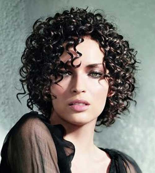 Penteados para cabelo curto encaracolado-12
