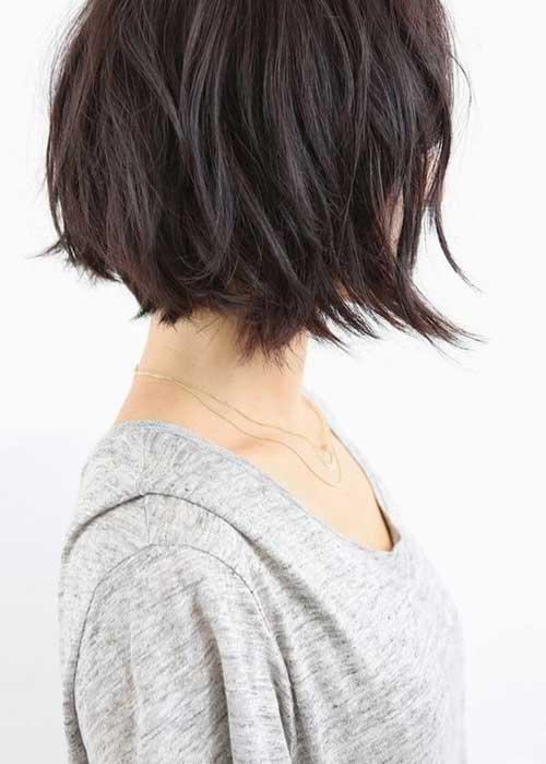 Penteados para curto em camadas Cabelo-13