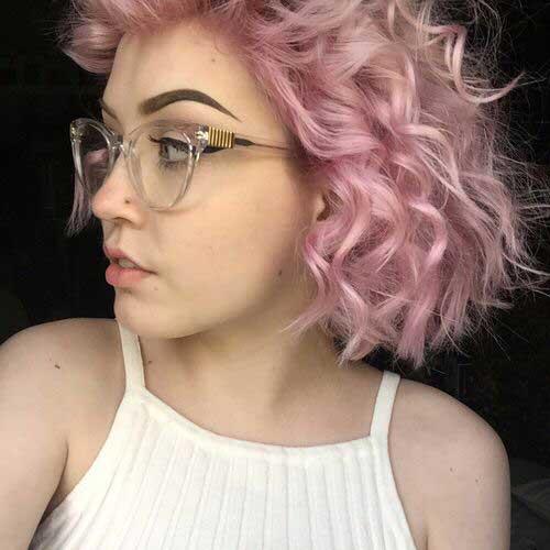 Luz cabelo encaracolado-14