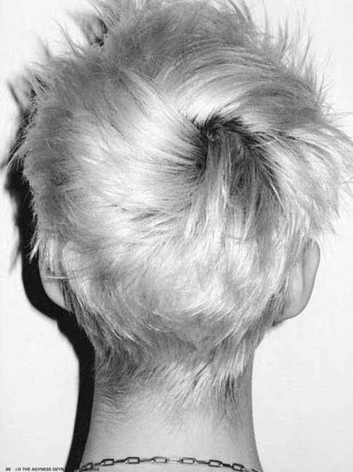 Pixie Haircut Voltar Ver-14
