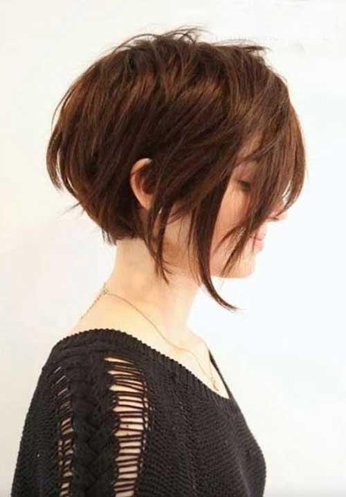 Formas bonito de estilo de cabelo curto-15