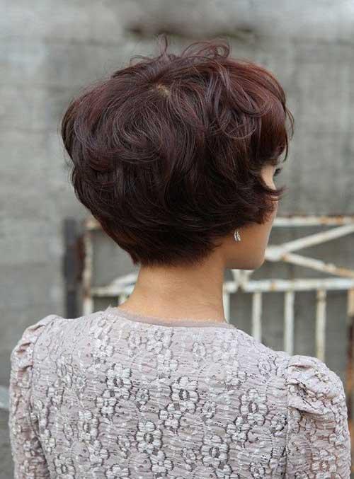 Pixie corte de cabelo Voltar Ver-15