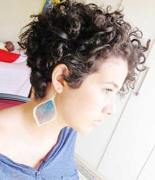 Penteados para cabelo curto encaracolado-16