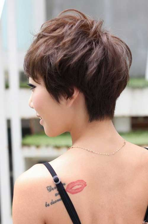 Pixie Haircut Voltar Ver-17