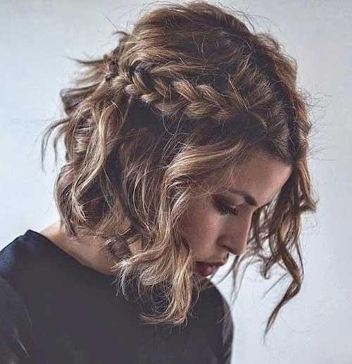 Curto ondulado cabelo-16