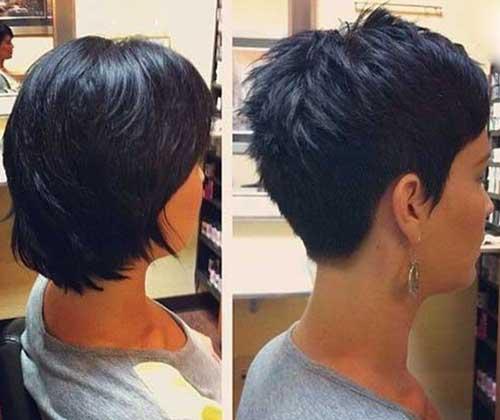 Pixie Haircut Voltar Ver-19