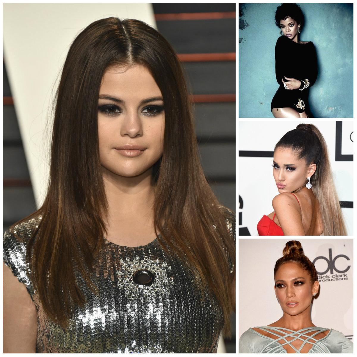 2016 Penteados de Celebridades