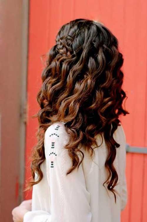 25+ Lady Penteados Para Cabelos Longos