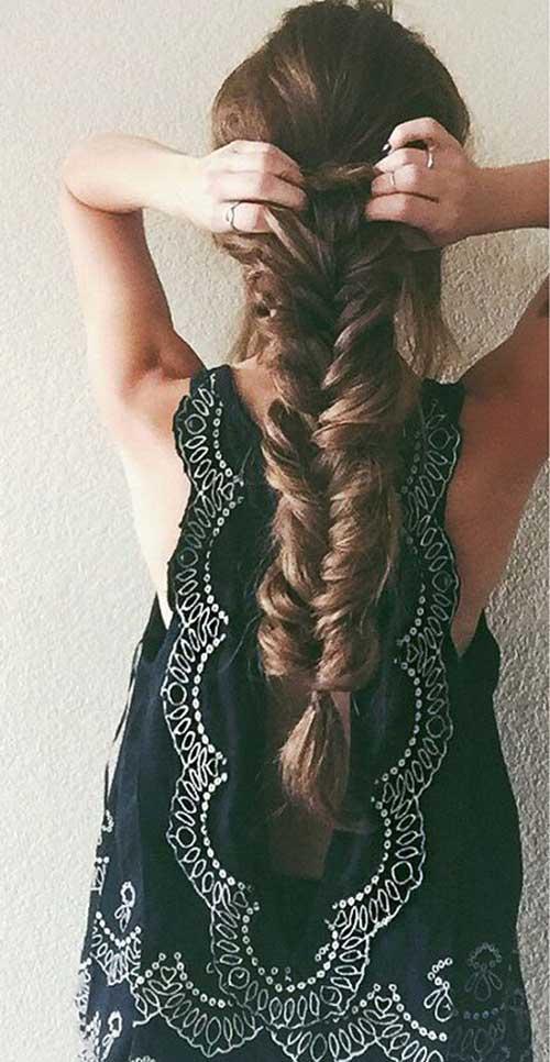 Penteados para cabelos longos -41