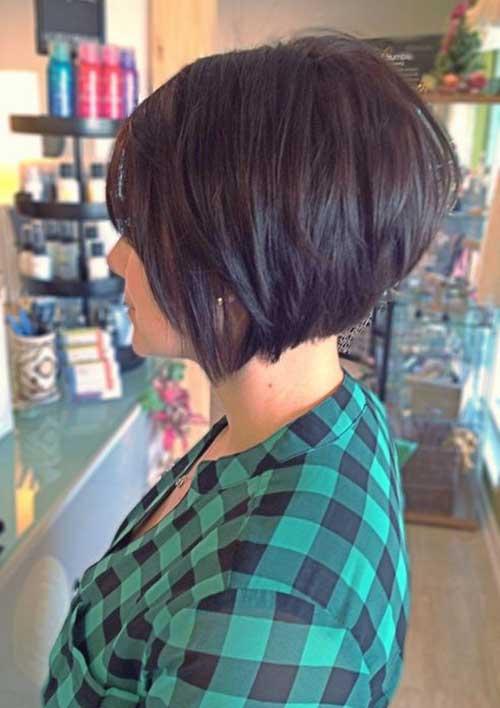 Penteados para curto em camadas Cabelo-6