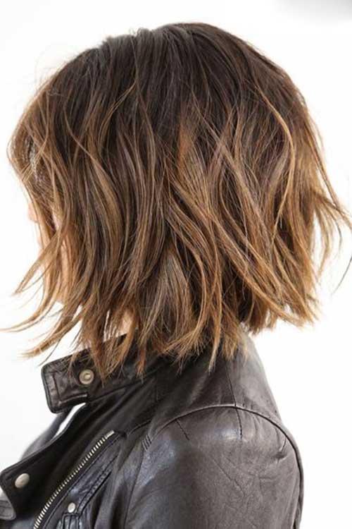 Penteados para curto em camadas Cabelo-7