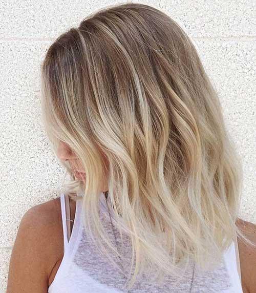 Ombre Cor de cabelo para cabelo curto-10