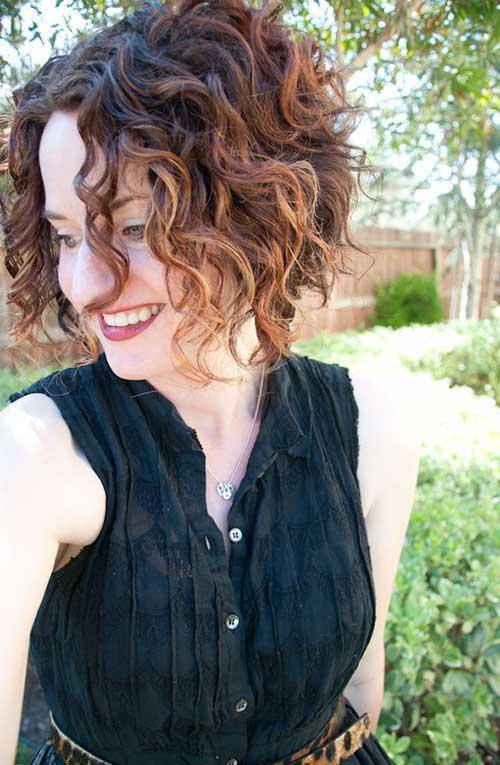 Penteados para cabelo curto encaracolado-9
