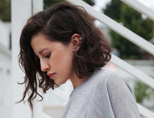 -Hair.jpg -Wavy Curto Cabelo ondulado-9
