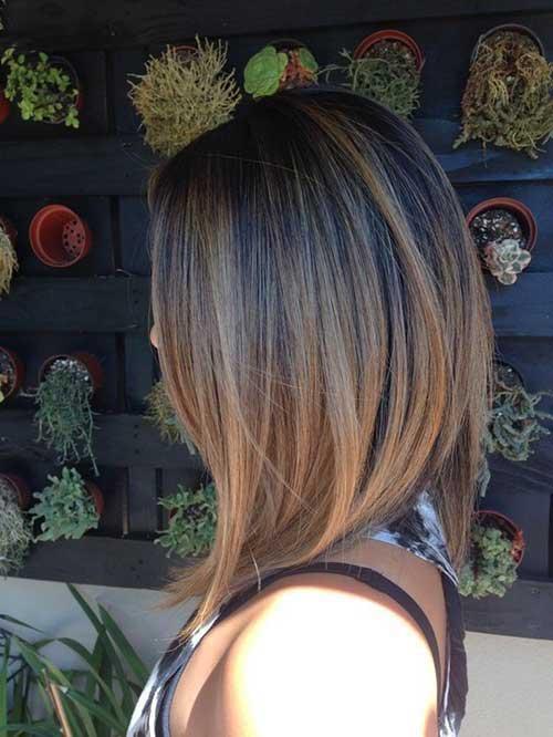 Color Ombre para o cabelo curto