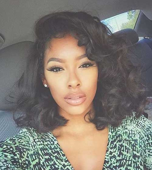 Black Women Bob penteados