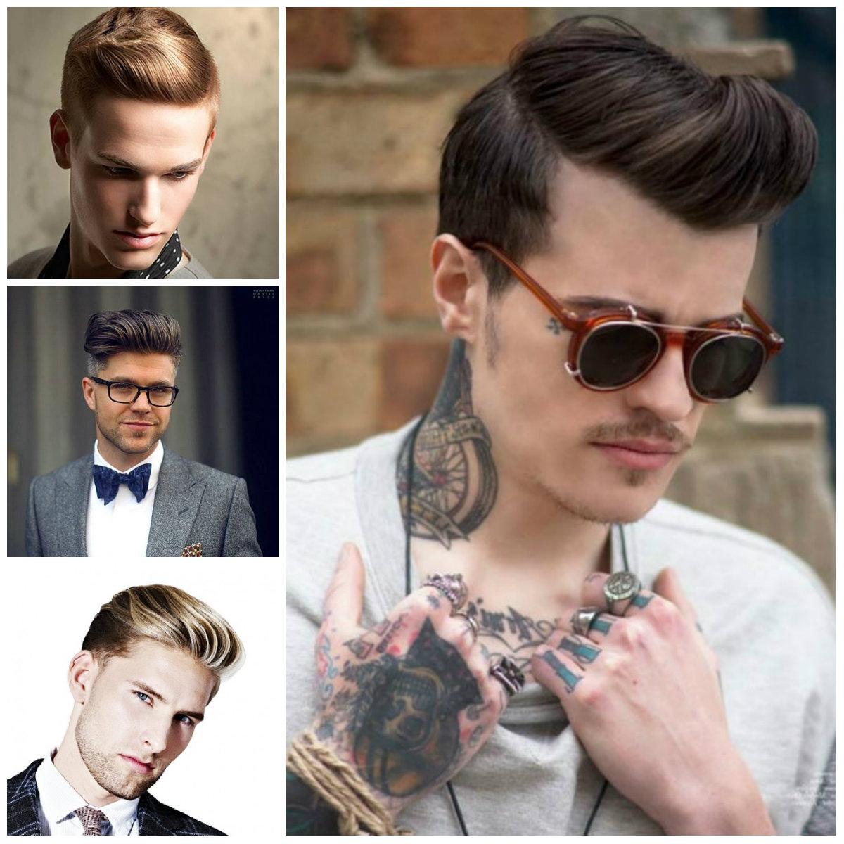 Classic penteados para homens