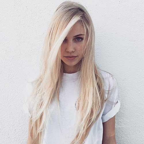Long cabelo em camadas