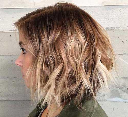 Ombre Cor de cabelo para o cabelo curto
