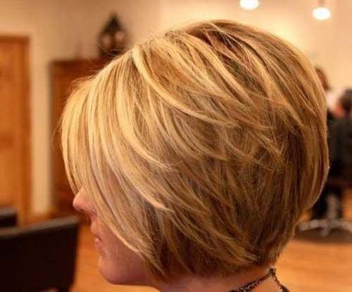 cortes de cabelo curto com Layers