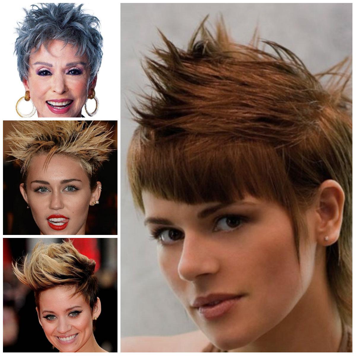Womens Spiky penteados para 2016