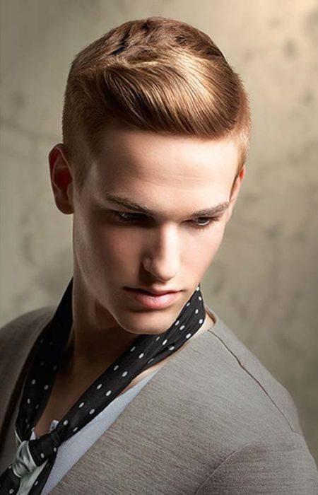 penteado clássico legal para os homens
