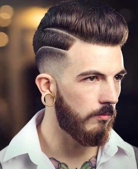 linha de corte de cabelo projetado para os homens 2016