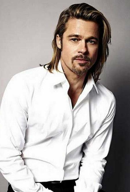penteado de comprimento médio para os homens