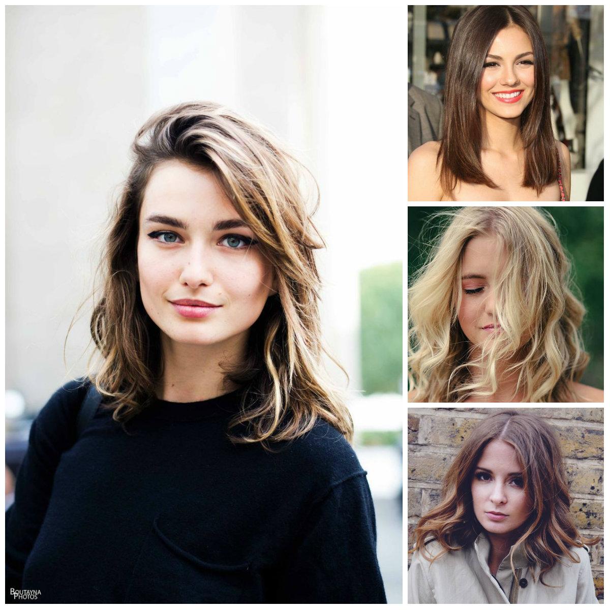 Penteados Elegantes de Comprimento Médio para 2016