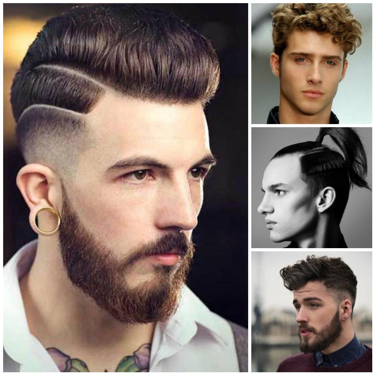 2016 Idéias penteado na moda para homens
