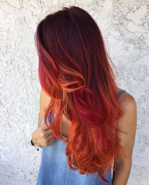 12.Red-Long-Hairstyle