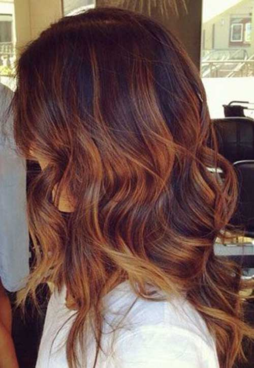 Idéias 25+ Cor de cabelo para cabelo escuro