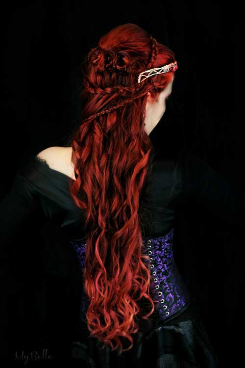 14.Red-Long-Hairstyle