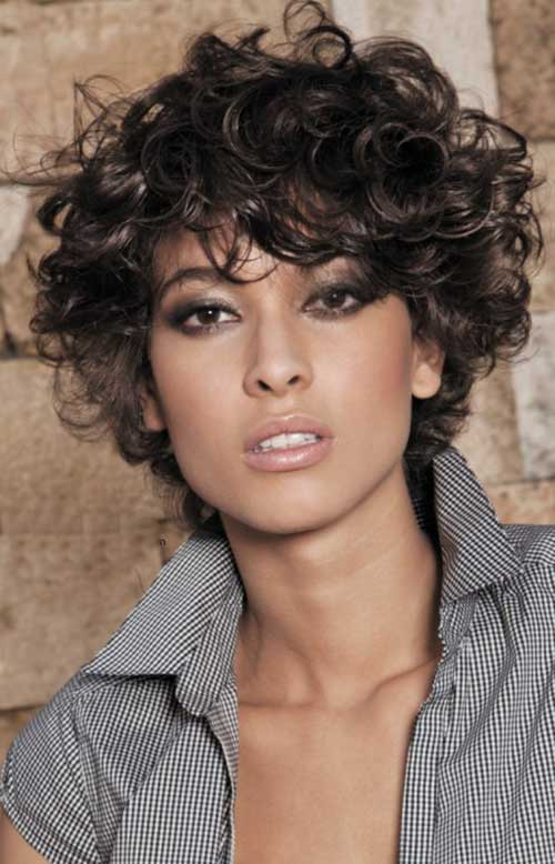 Short Curly penteados-15