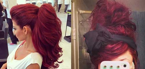 16.Red-Long-Hairstyle