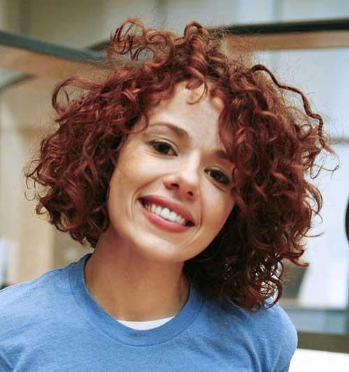 Short Curly penteados-17