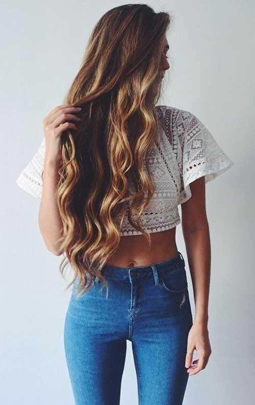 melhor penteado para cabelo ondulado-18