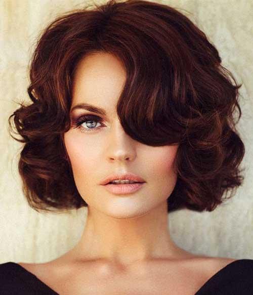 Short Curly penteados-19