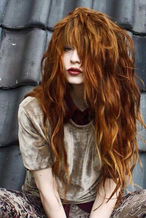 20 + Red Penteados Longos