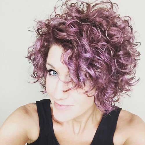 Short Curly penteados-7