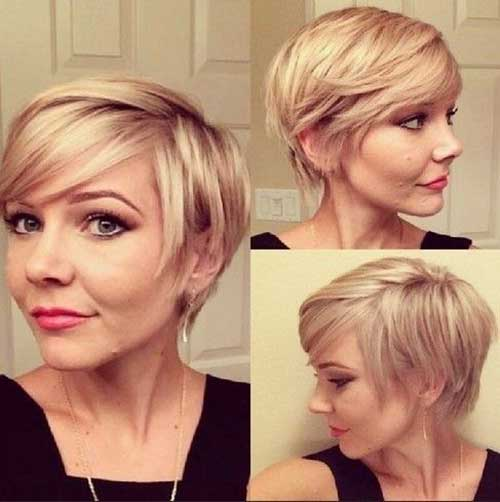 Short cortes de cabelo com franja-7