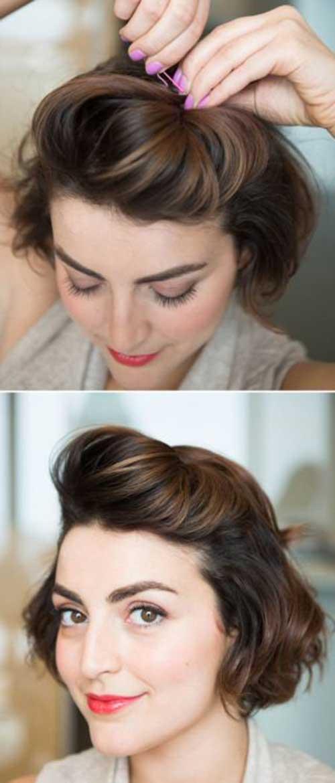 Penteados para meninas com cabelo curto-9