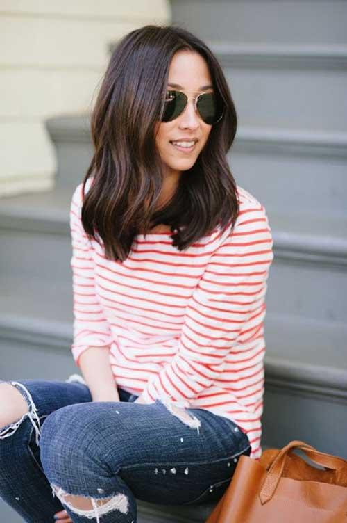 9.Medium-Long-Hair-Style