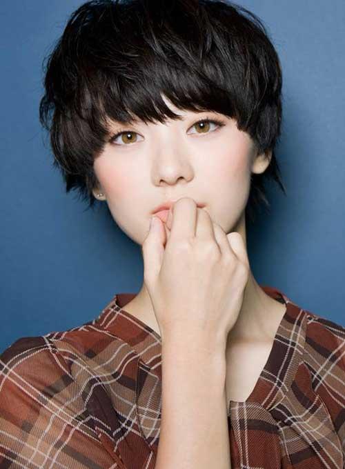 15+ Asiática Bonito Pixie Cut